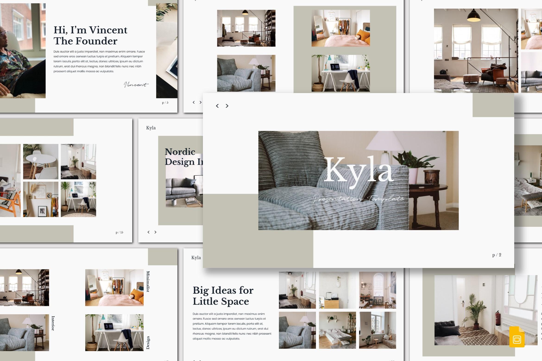 Kyla - Google Slides Template example image 1