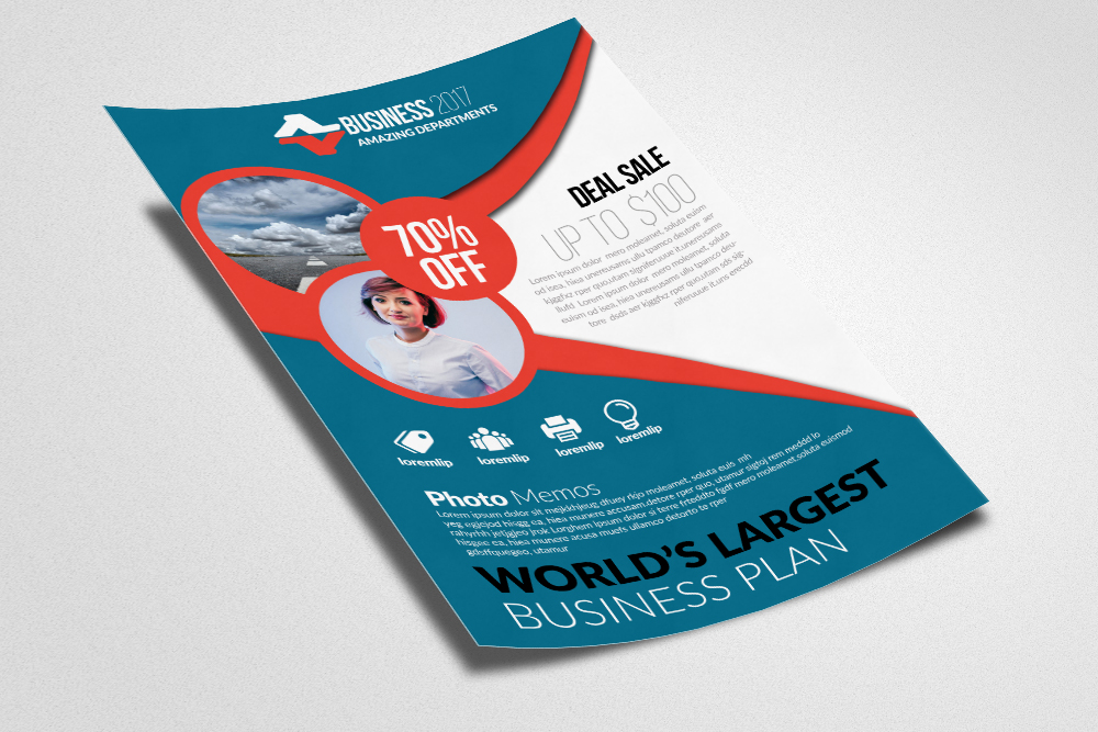 Employment Agency & Jobs Fair Flyer Template example image 2