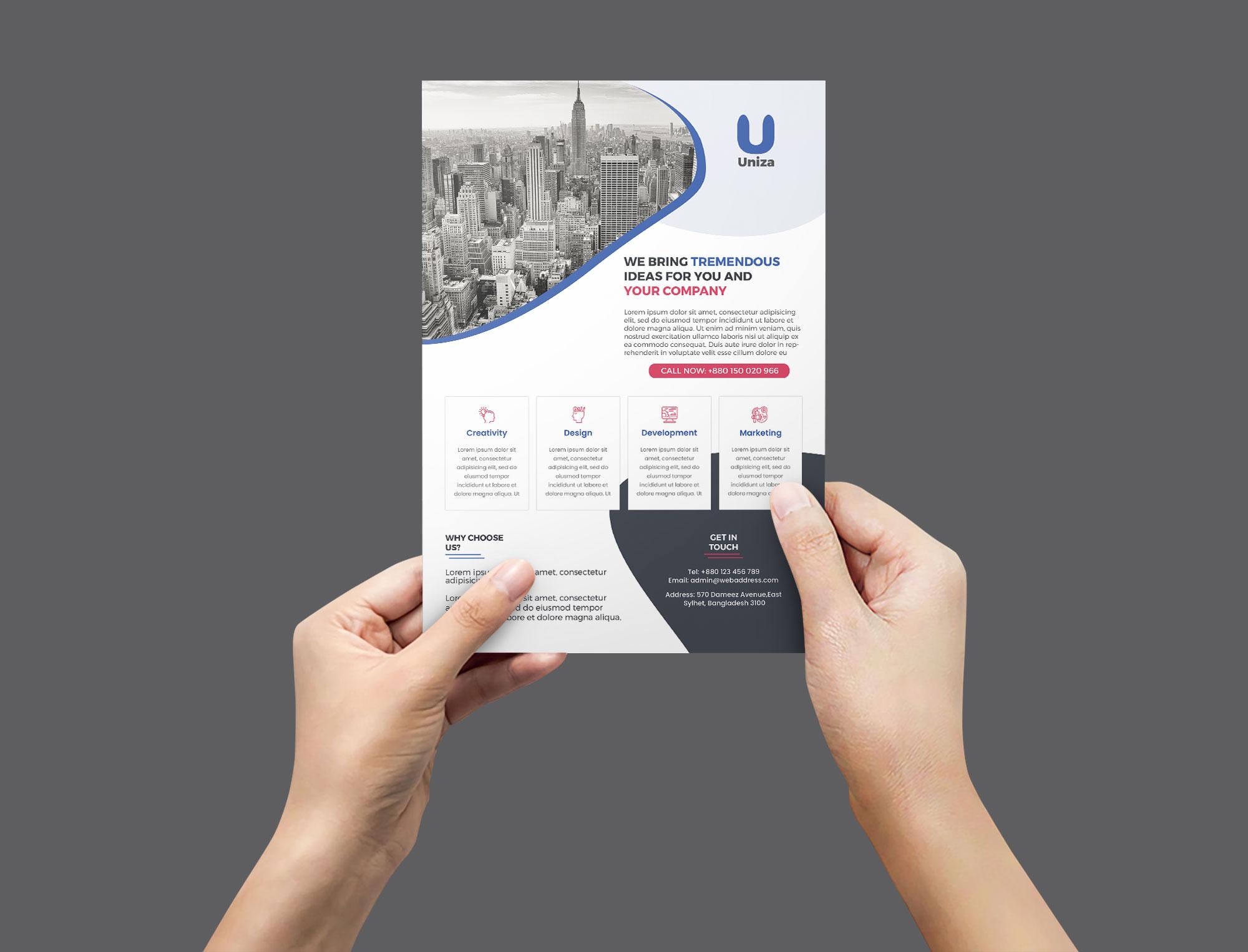 Lumen Corporate Flyer example image 2