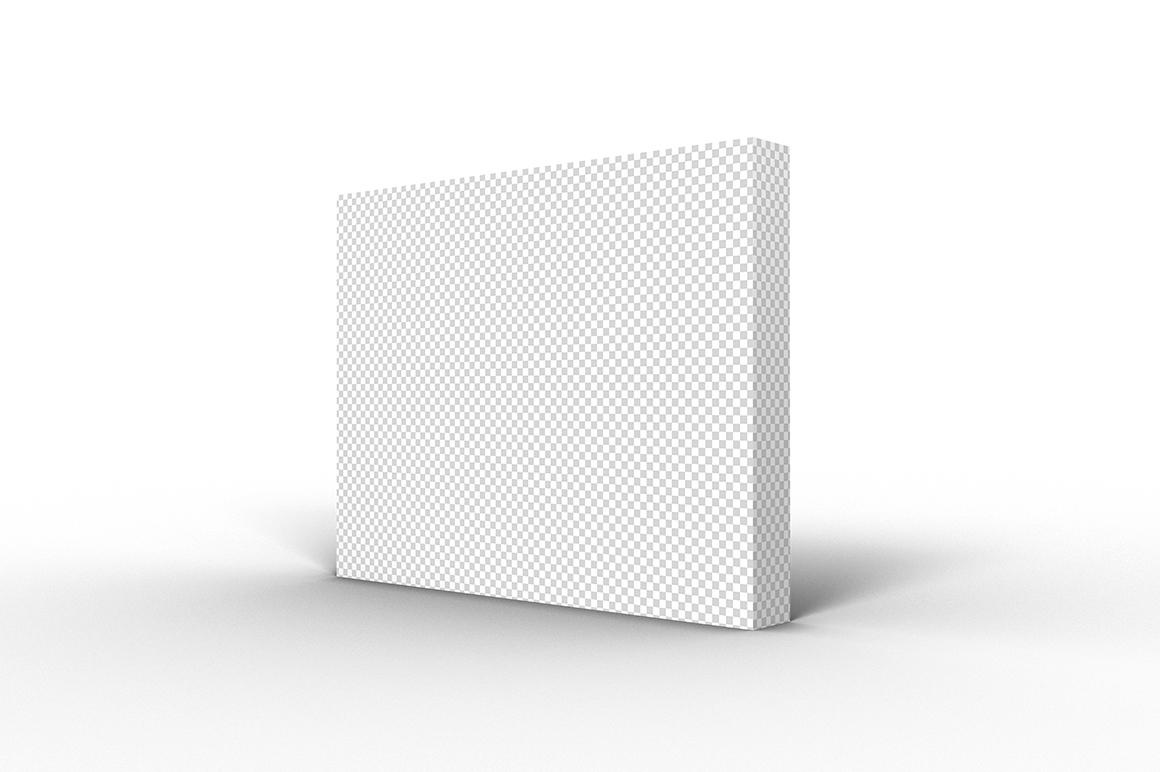 9.7.1 Simple 3D Box Mockup PSD example image 2