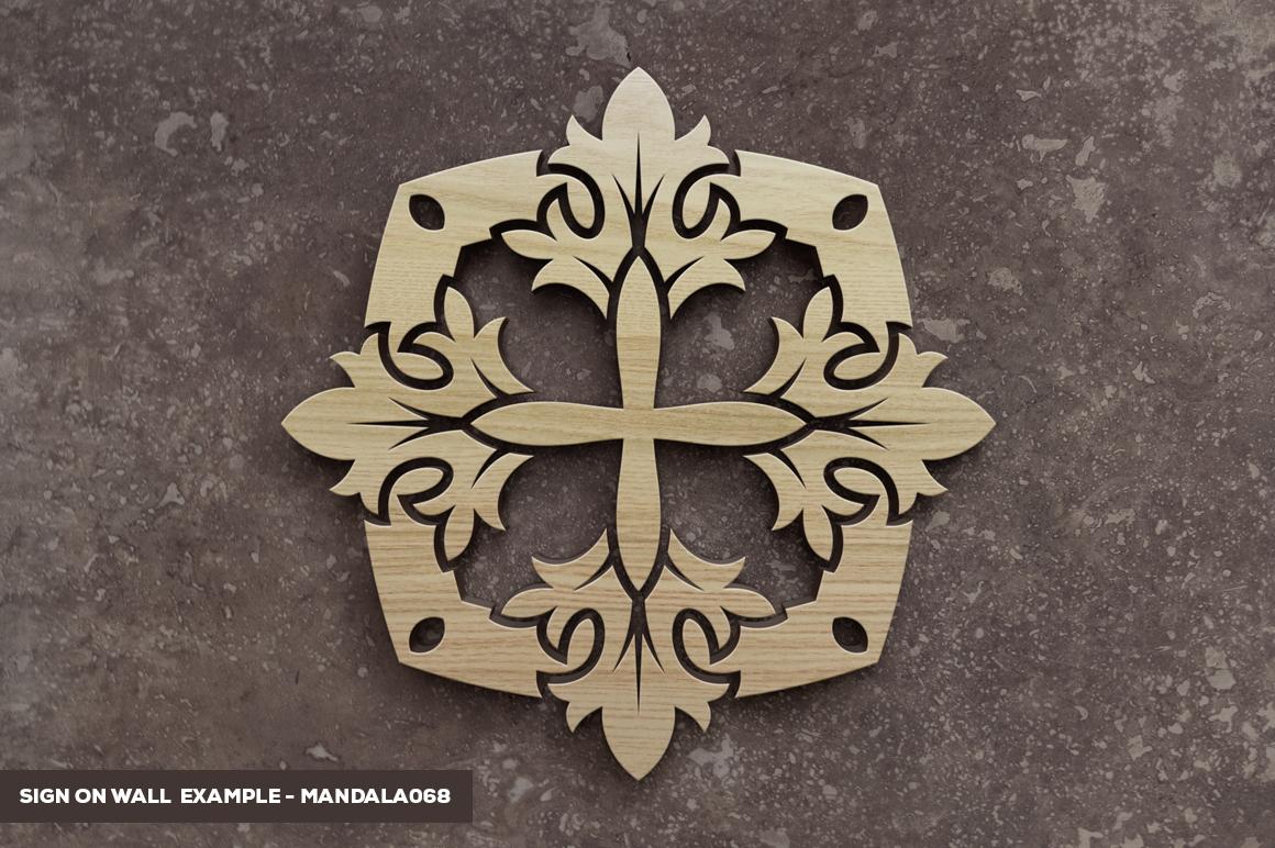 500 Vector Mandala Ornaments example image 41