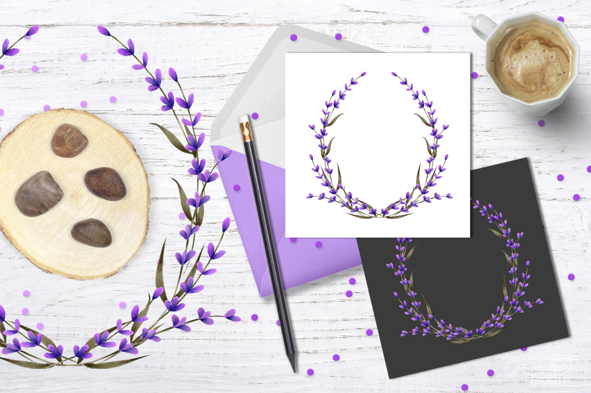 Provence. Lavender wreath #1 example image 2