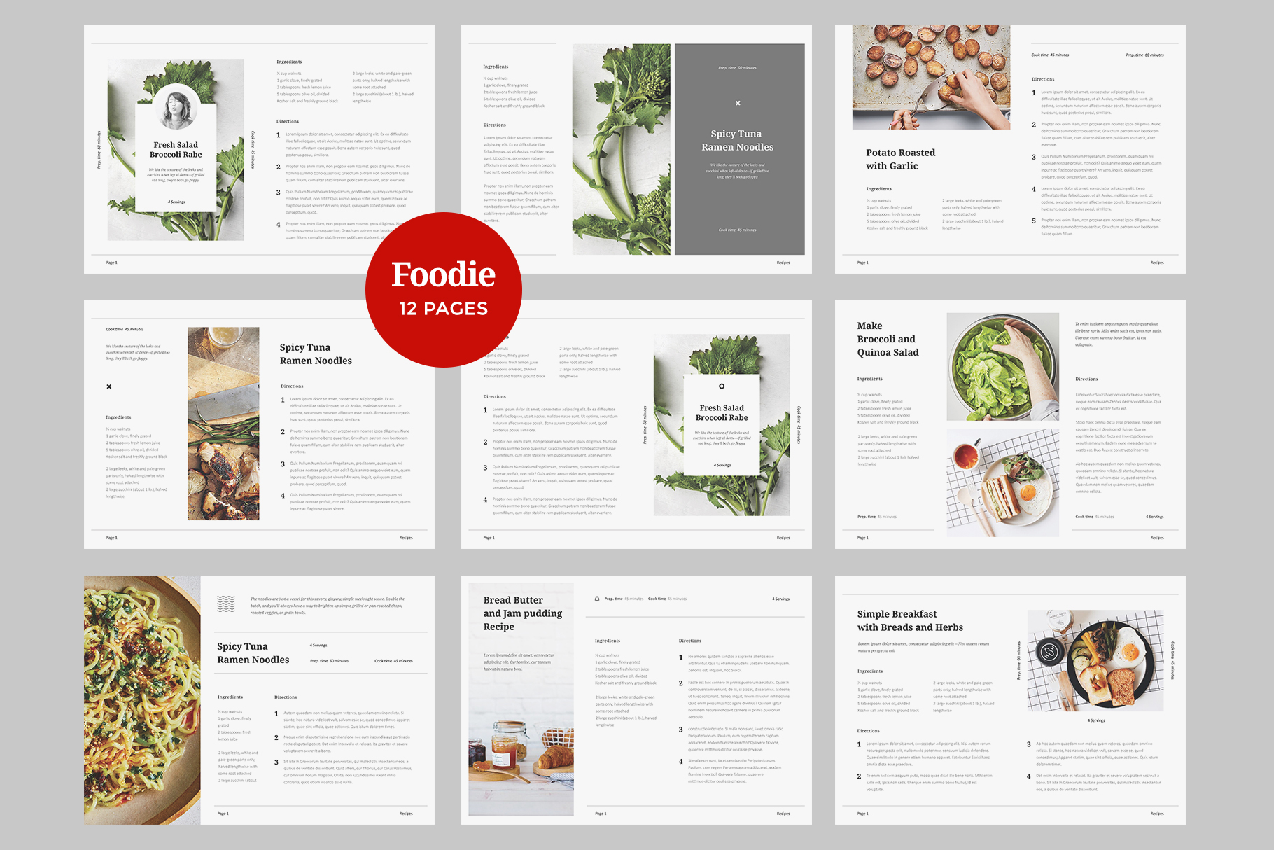 Foodie - Cookbook Template example image 7