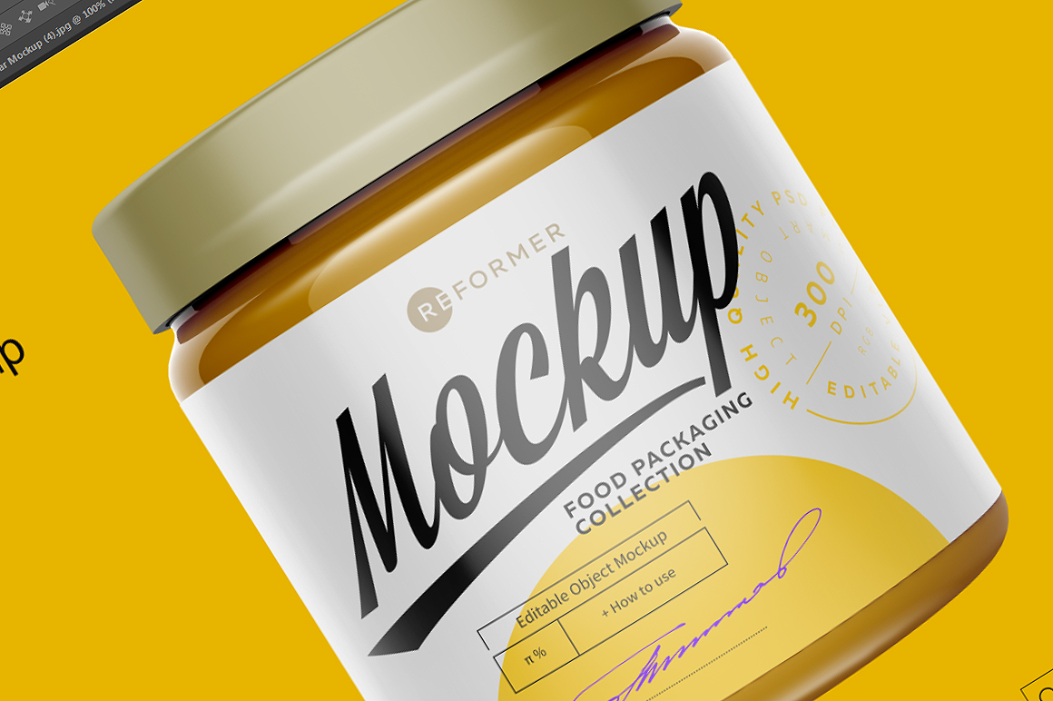 Glass Jar Mockup example image 6