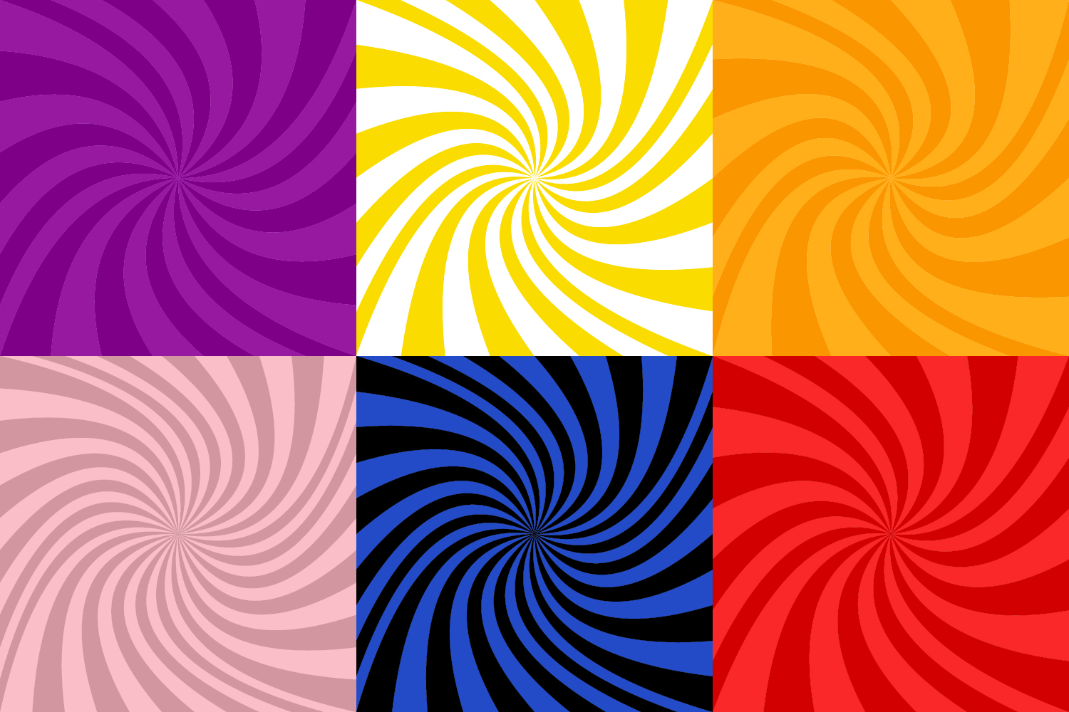 50 Spiral Backgrounds AI, EPS, JPG 5000x5000 example image 2