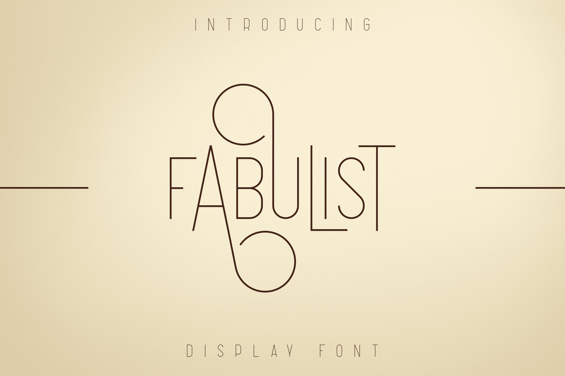 Fabulist - Display font example image 1