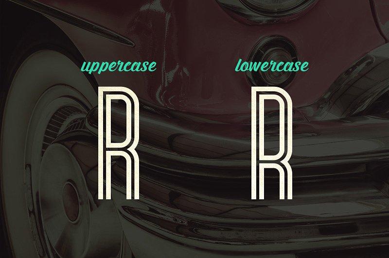 Bronco Typeface example image 4