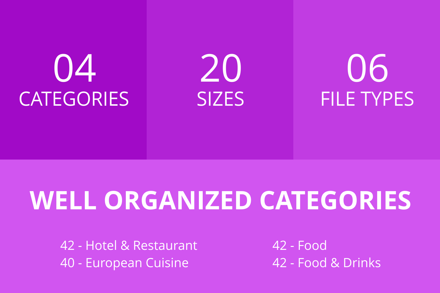 166 Restaurant & Food Line Icons example image 2
