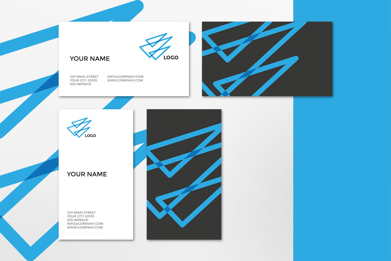 $10 for 5 - Business Card 03 example image 6