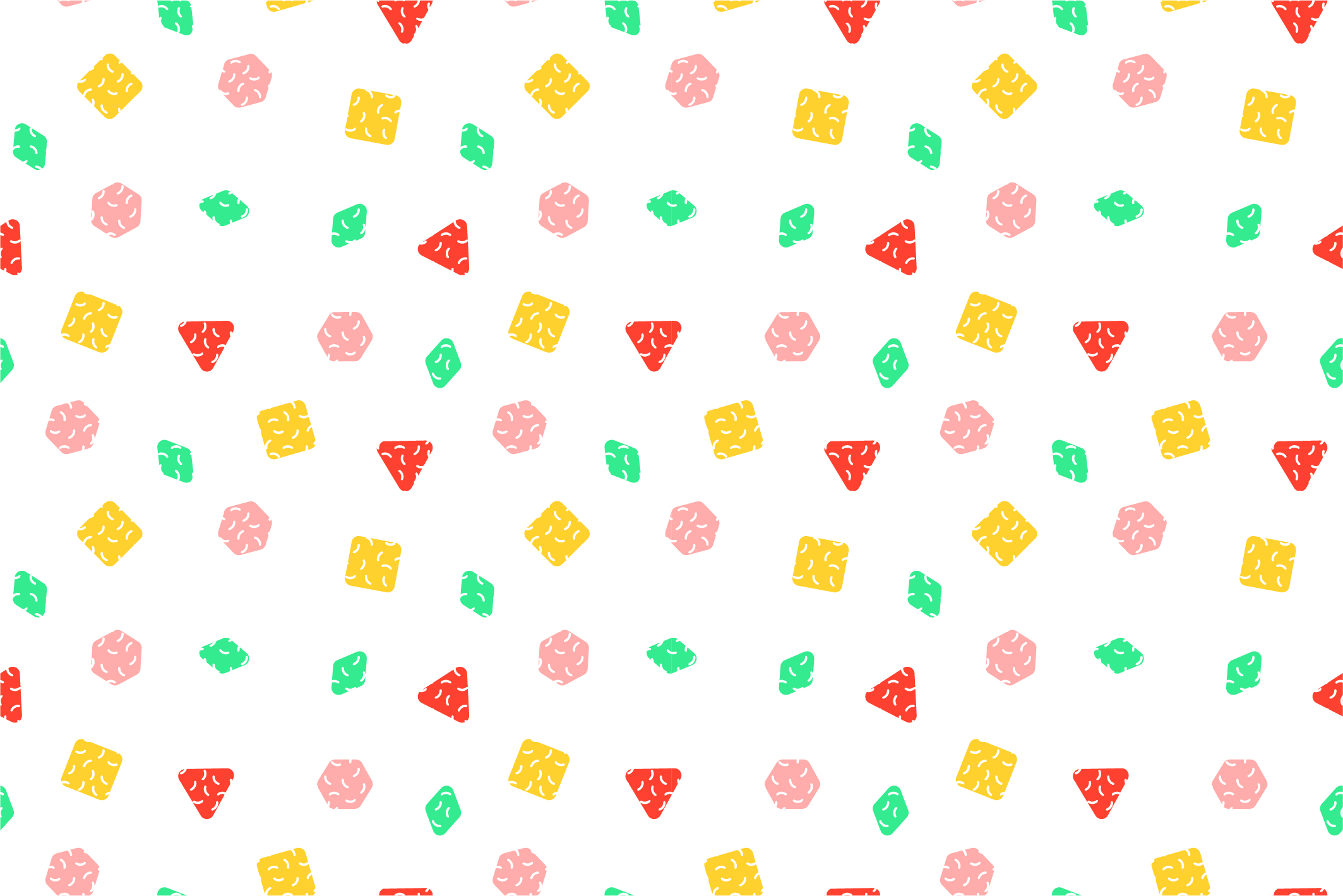 Colorful seamless memphis patterns example image 14