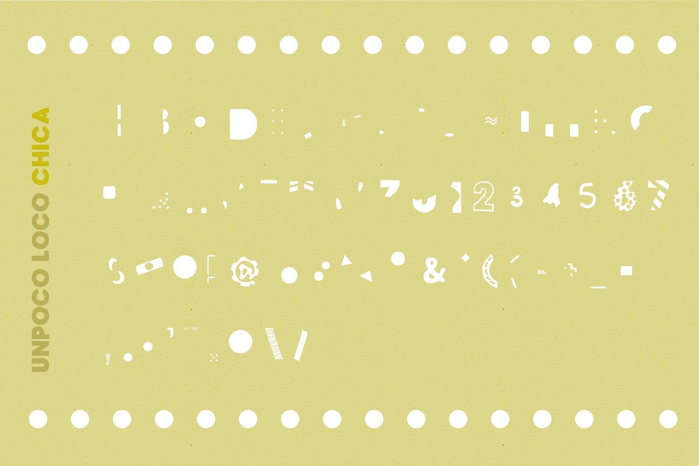 Unpoco Loco™ - 4 Layered Fonts example image 11