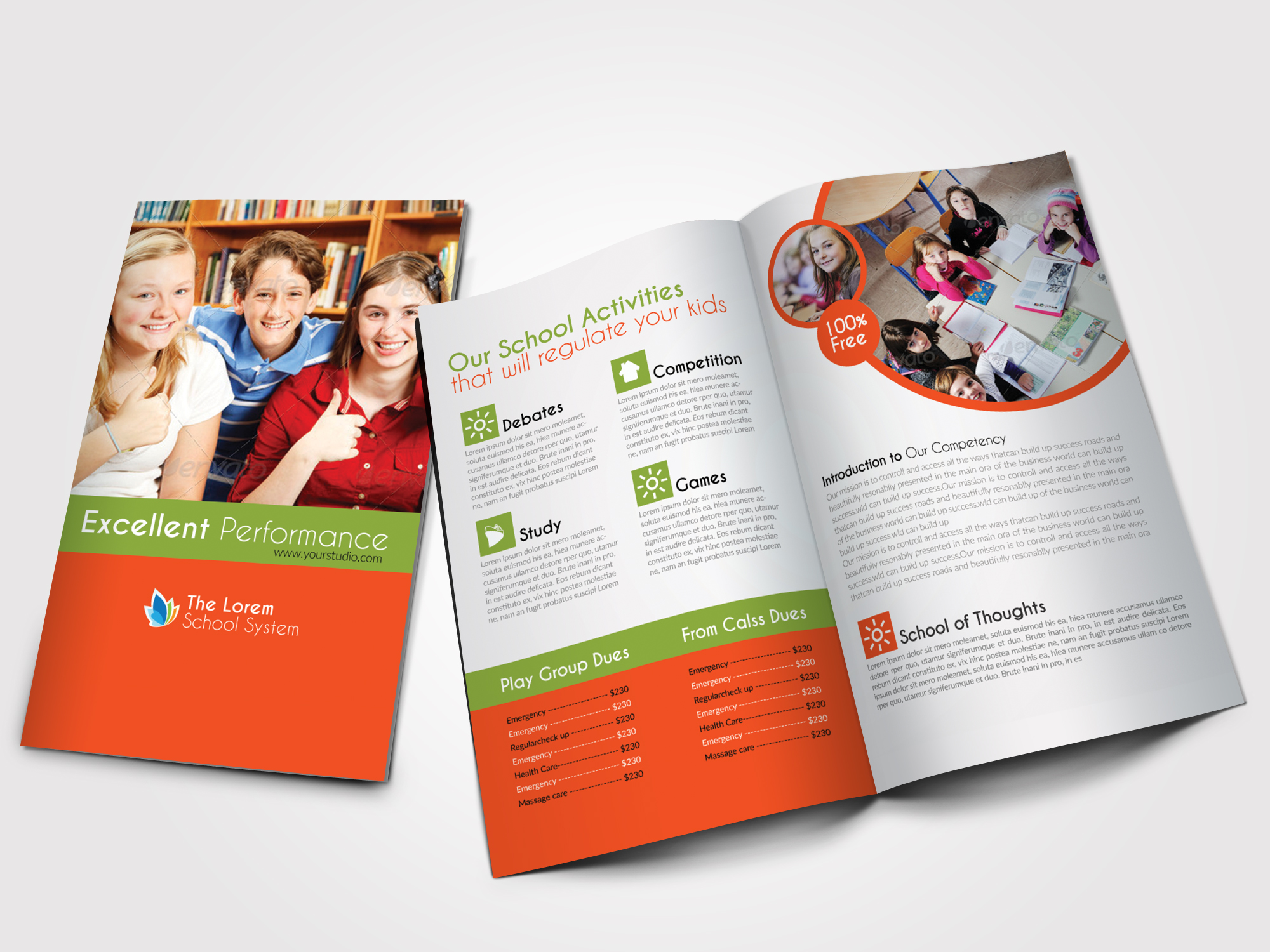 Education Bifold Brochure  example image 1