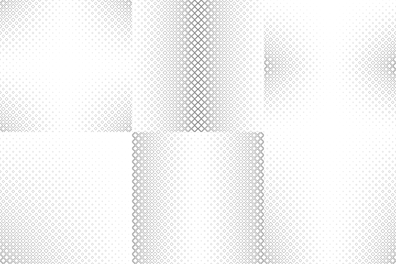 24 Square Patterns (AI, EPS, JPG 5000x5000) example image 6