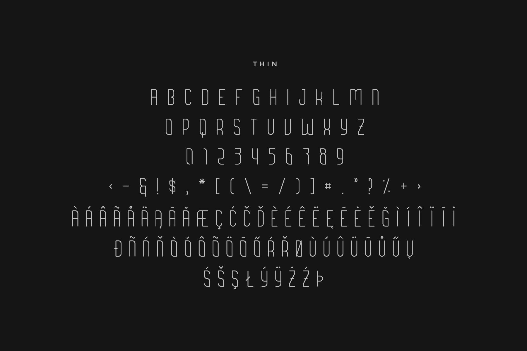 Brengkel - Condensed Font example image 5