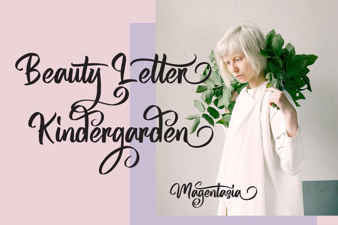 Magentasia - Handwritten Font example image 5