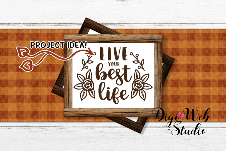Mockup Bundle - Fall Country Wood Signs, Pillow & Coffee Cup example image 13