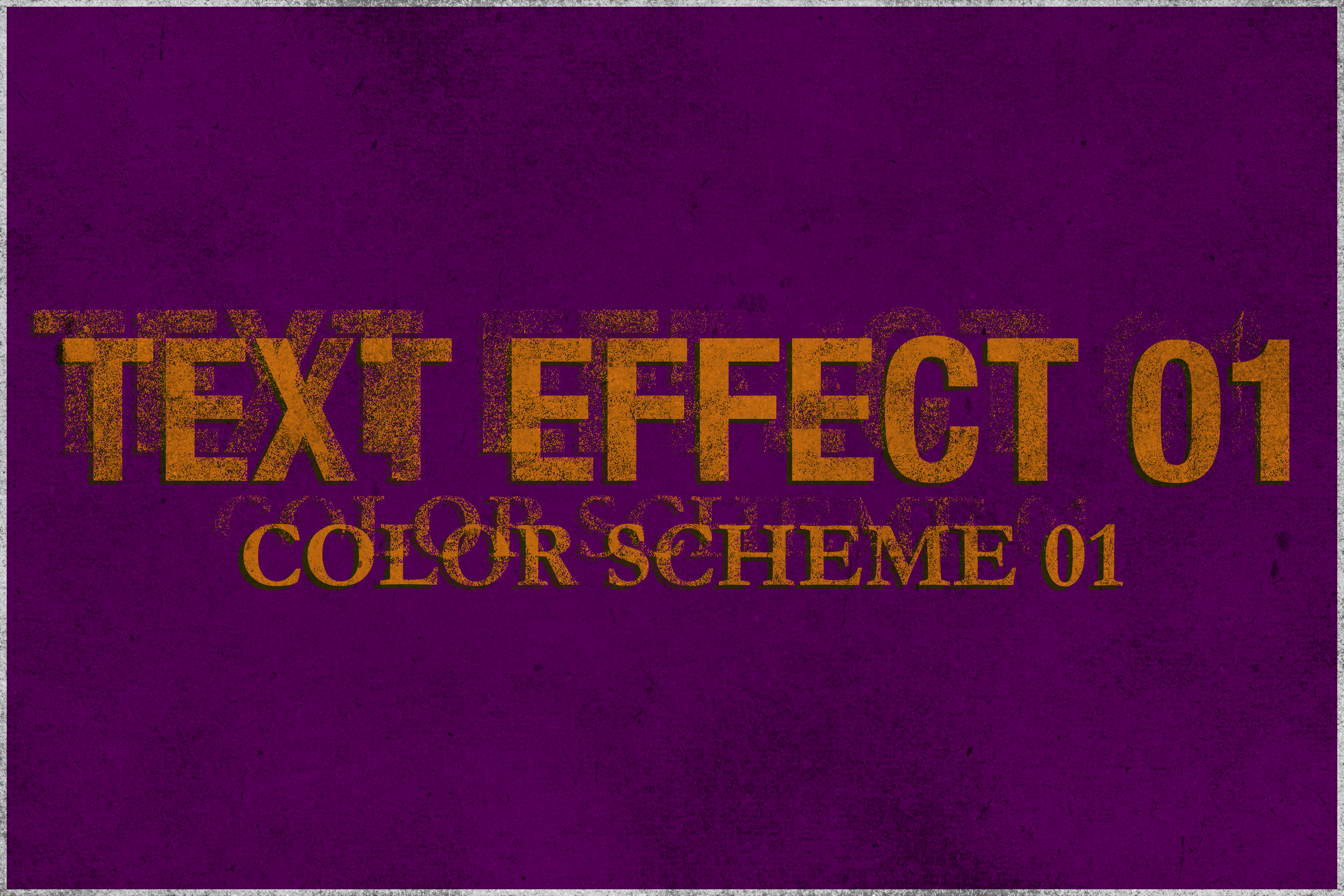 Corrosion - Vintage Text Effect example image 2