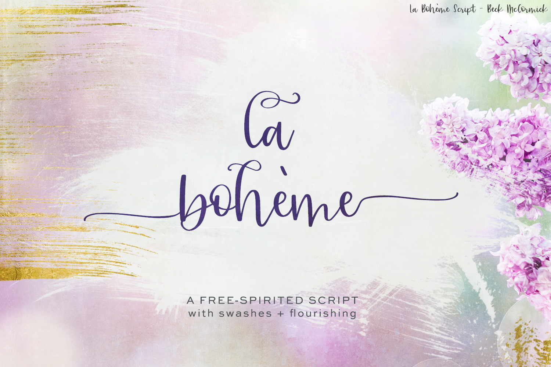 La Boheme Script example image 1