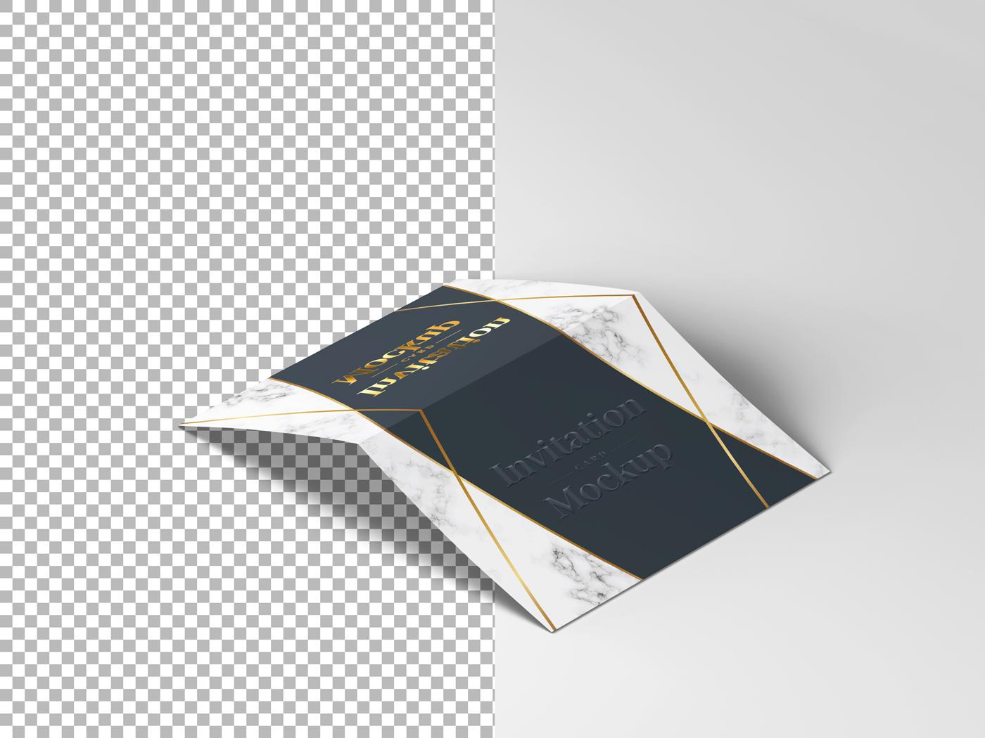 Invitation Card Mockups V1 example image 4