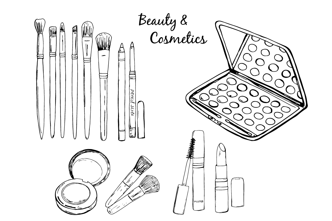 Sketch Beauty & cosmetics. example image 2