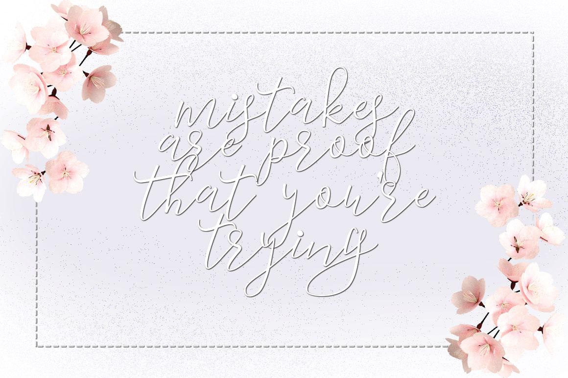 Marsha Typeface example image 3