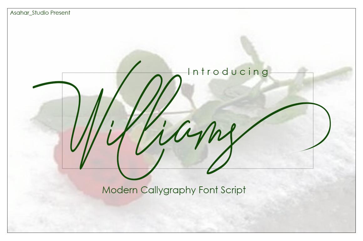 Williams example image 1