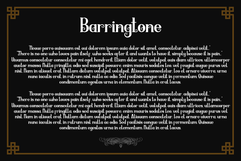 Barringtone example image 7