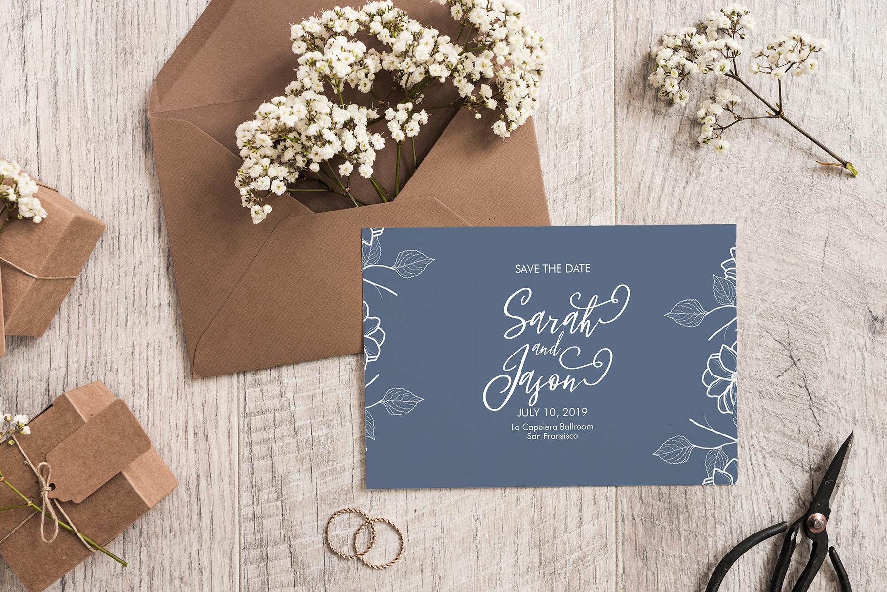 Fleur Bleue - Beautiful Romantic Font example image 4