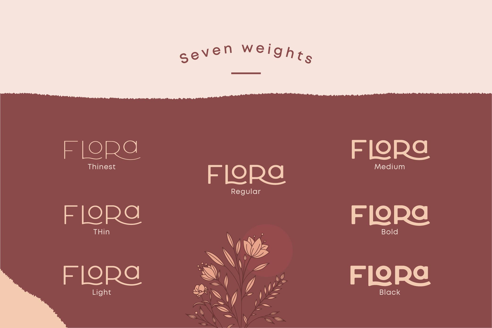 Larosa Sans- 7 Elegant Typeface example image 16