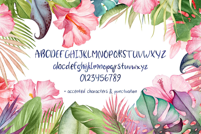 Da Beach Casual Sans Font example image 3
