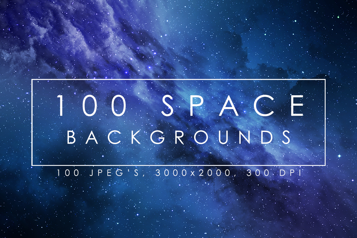 100 Space Backgrounds example image 1