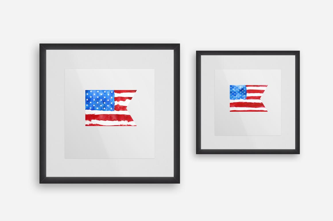 Patriotic USA. MINI Collection. example image 9