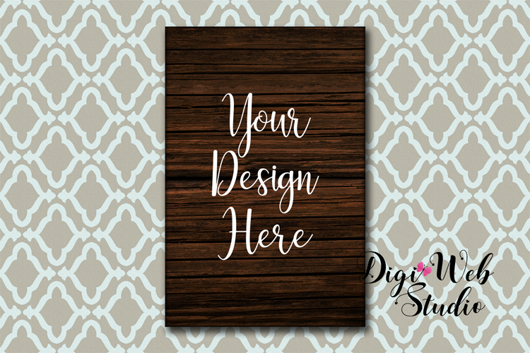 Wood Signs Mockup Bundle - 9 Piece Farmhouse Wood Signs 1 example image 10