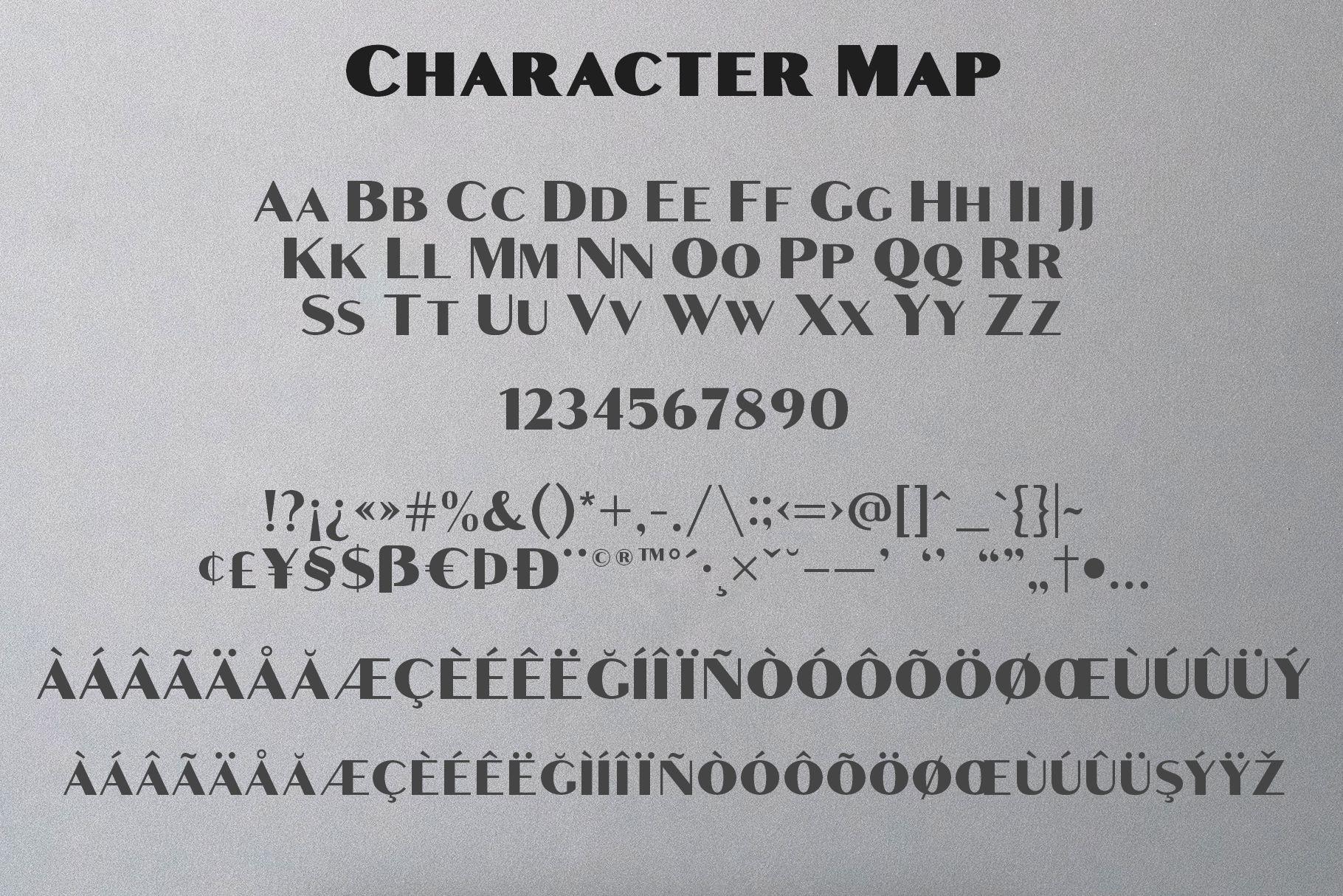 Croco - Luxury Sans Serif Font example image 11