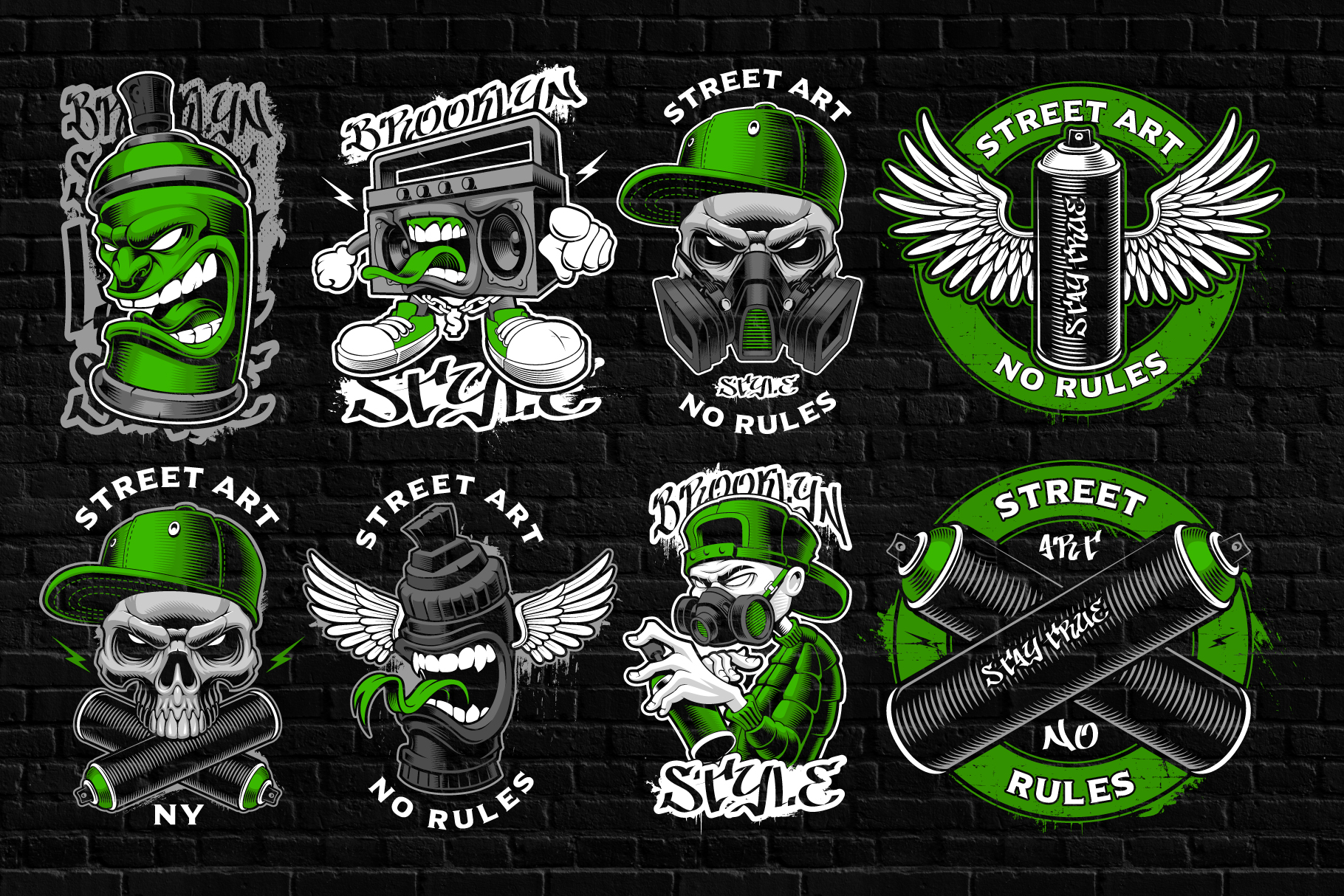 Graffiti Vectors Bundle example image 3