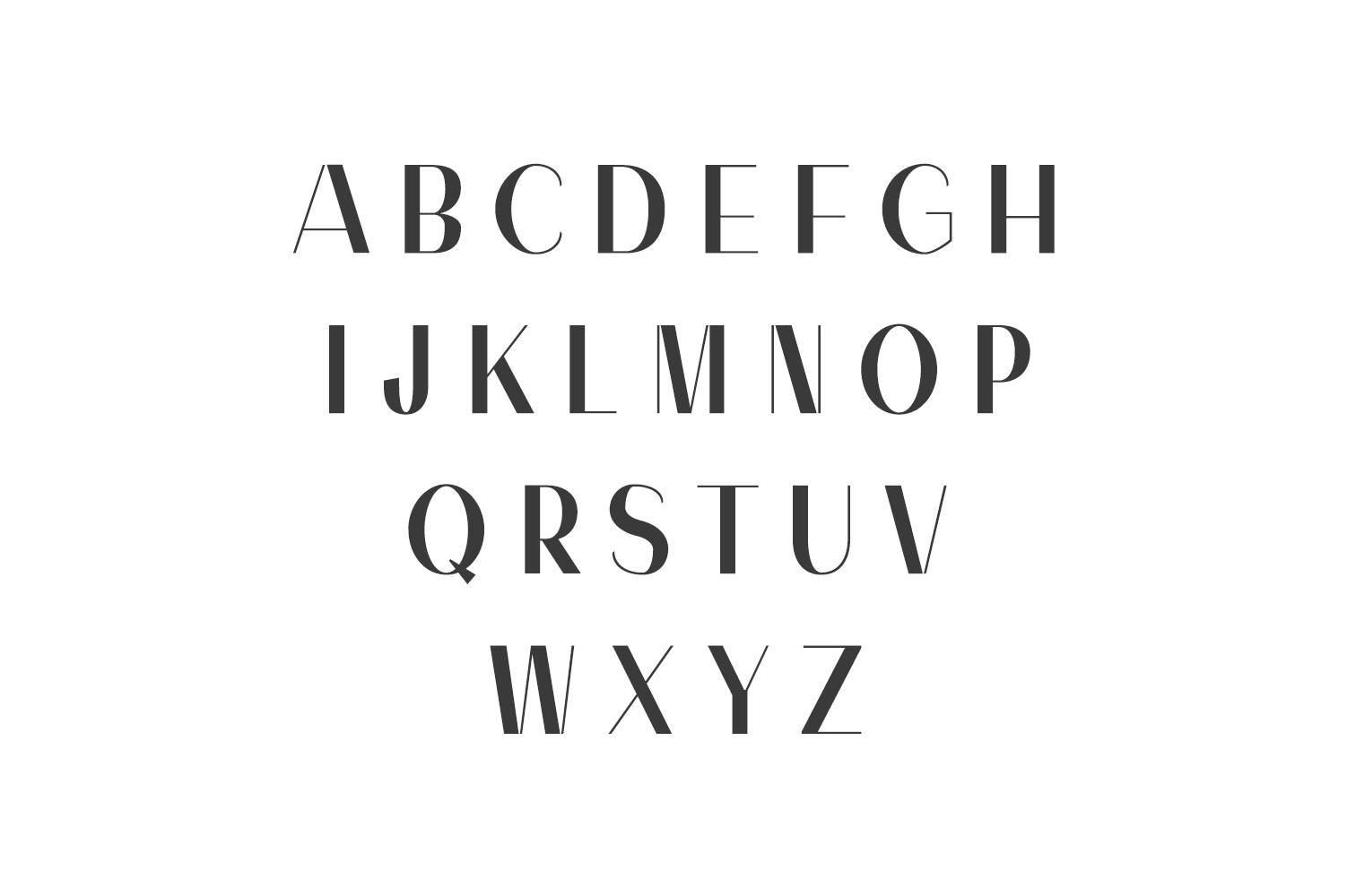 Alodie Sans Serif Font Family example image 2