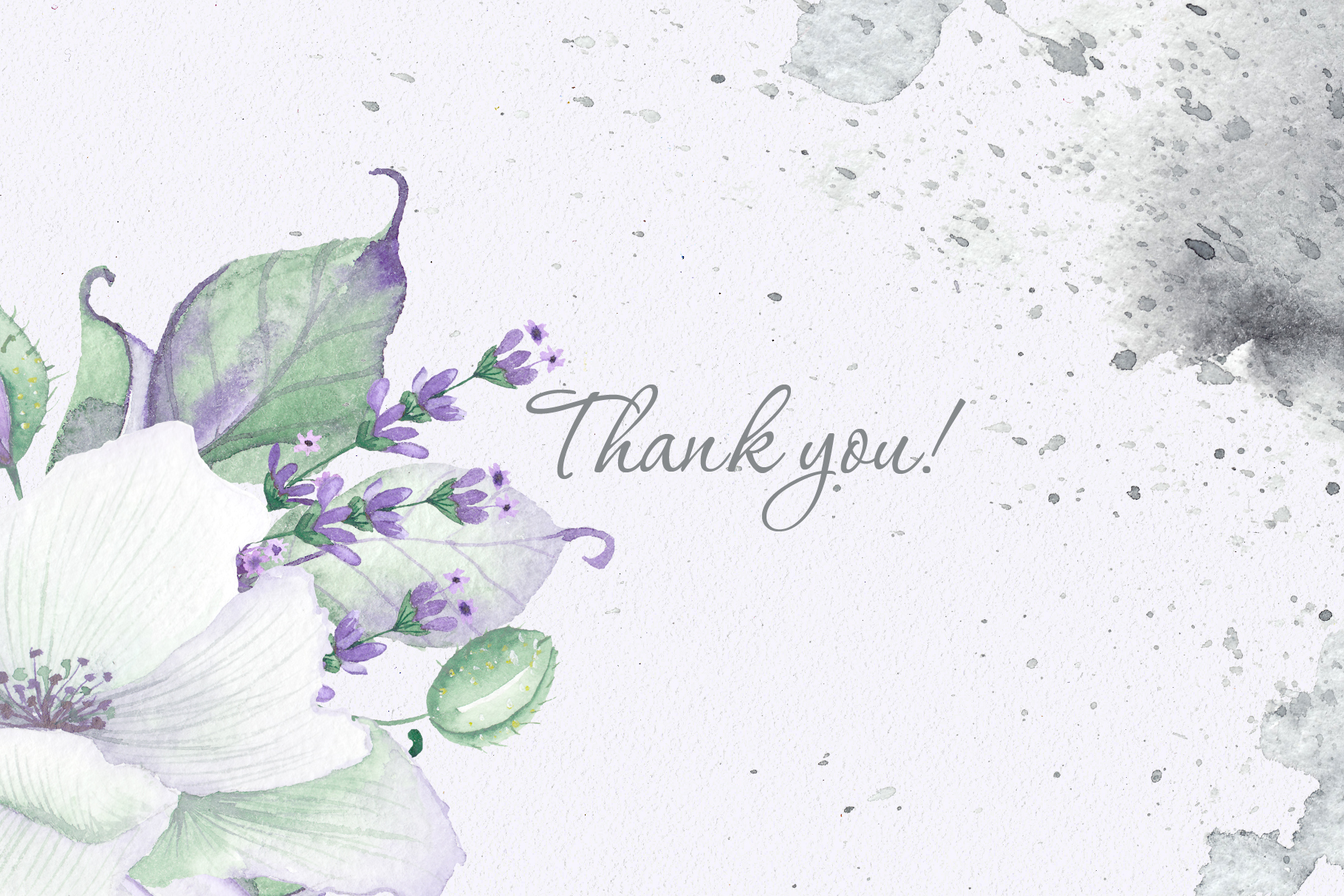 Floral purple green wedding collection example image 16