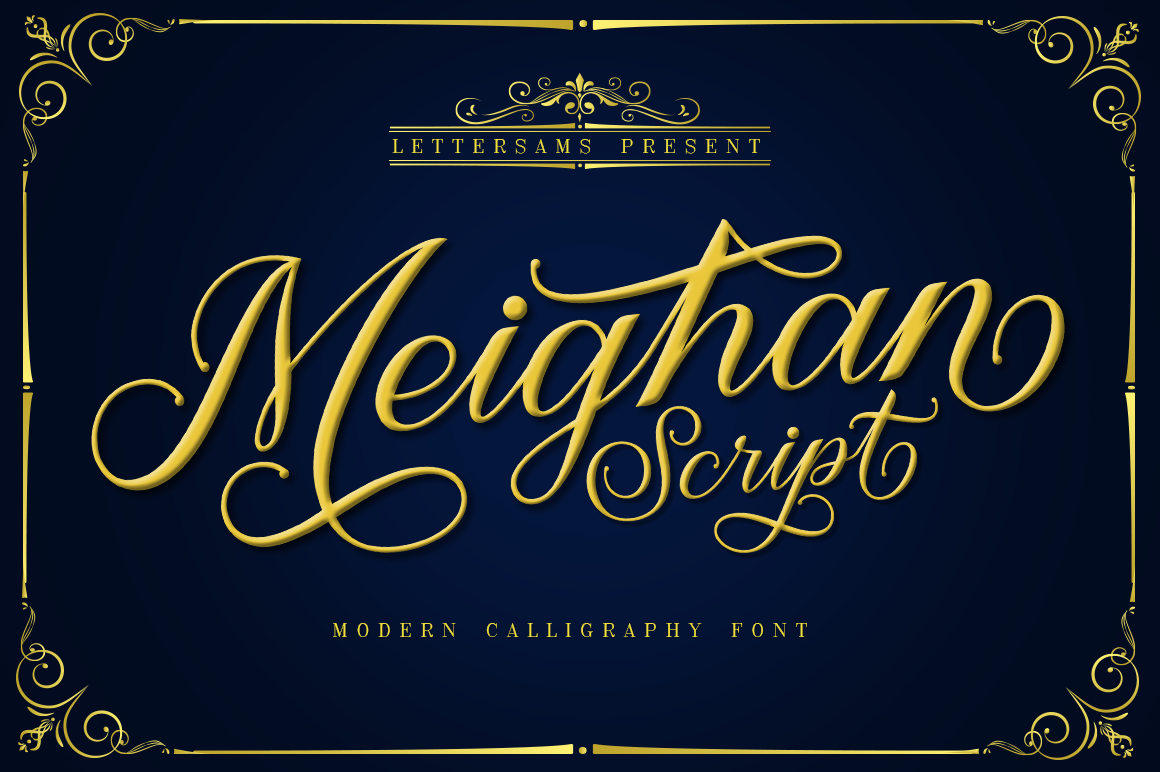 Meighan Script example image 1
