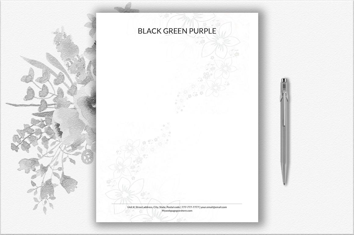 Letterhead Design Template example image 1