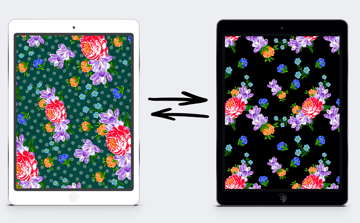 Textile flowers set. example image 6