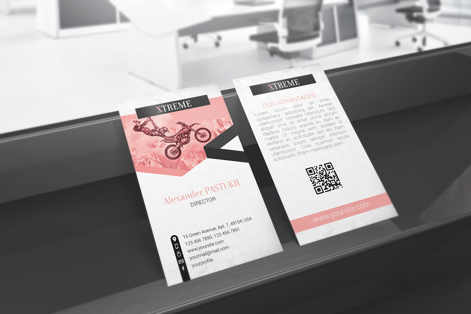 Business Card Mockups example image 9
