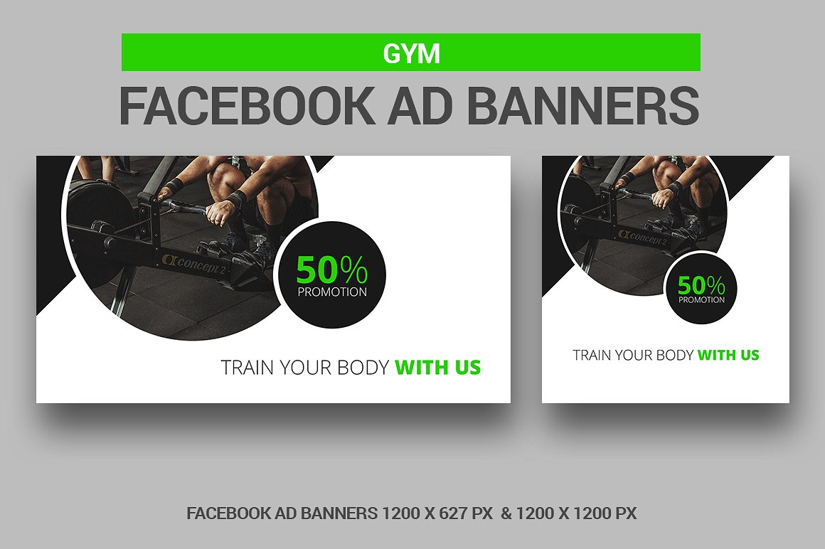 Gym - Facebook Ads example image 1