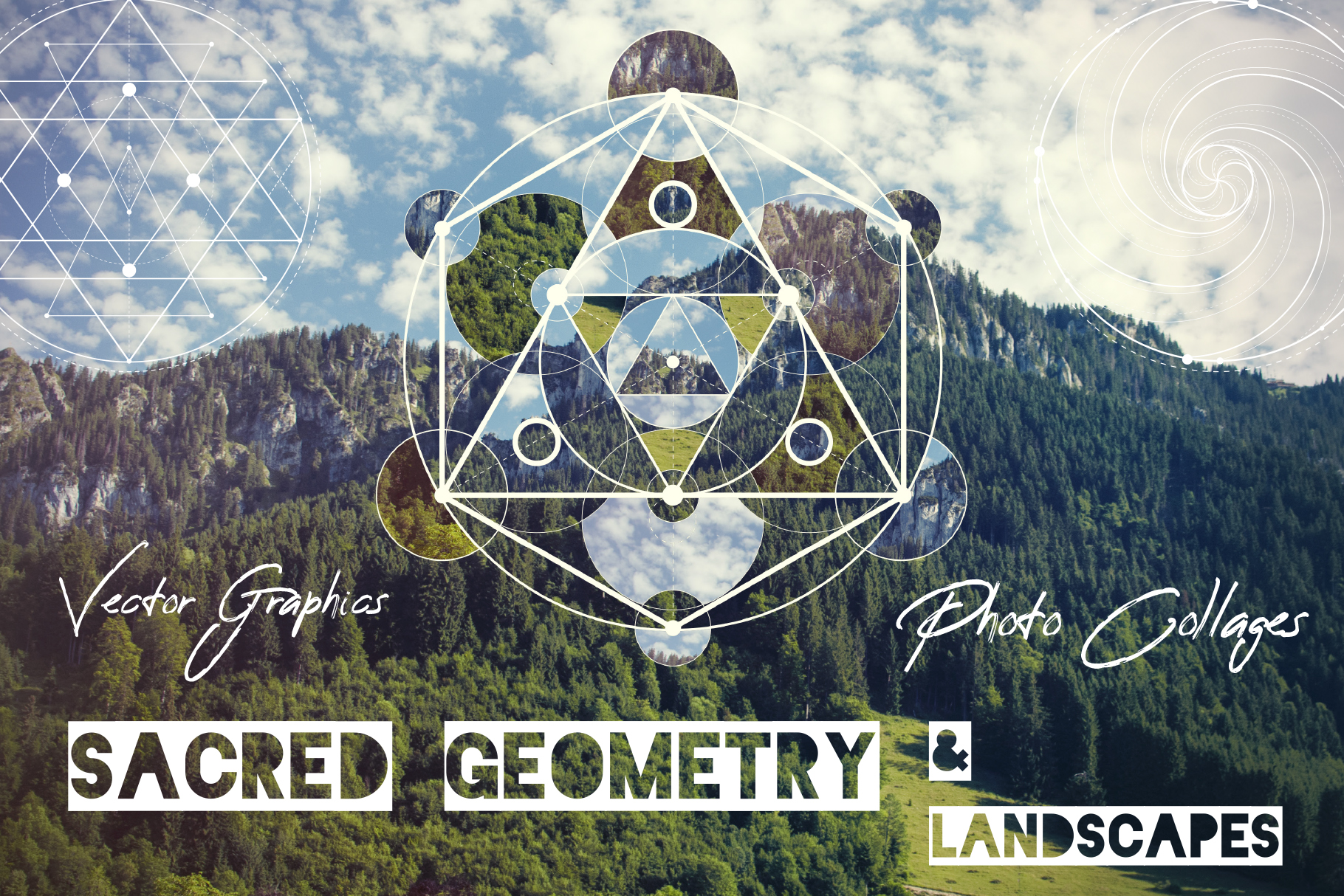 Sacred geometry unity of nature example image 1