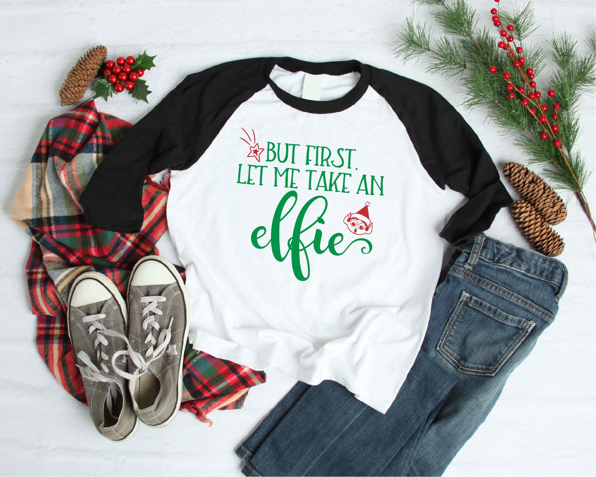 Christmas Elf Bundle, Elf SVG Sublimation, Elfin Cool SVG example image 12