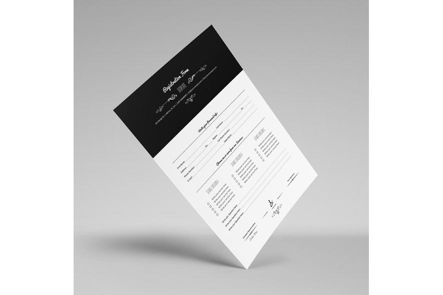 Registration Form Template v9 example image 4