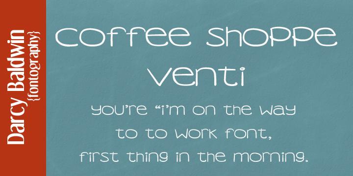DJB Coffee Shoppe Font Bundle example image 2