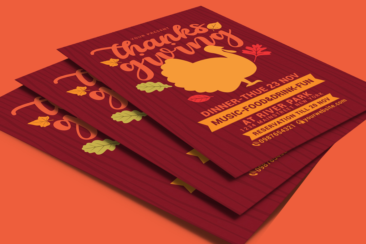 Thanksgiving Flyer example image 4