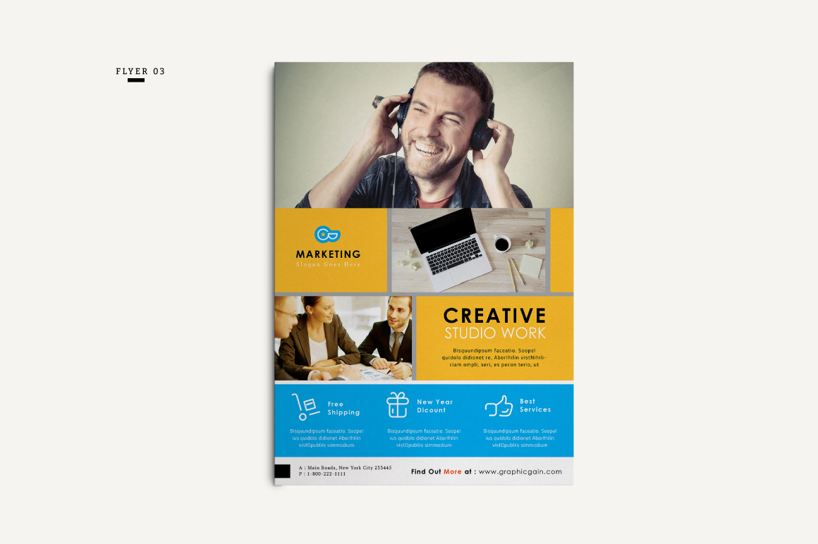 Corporate Flyer example image 4
