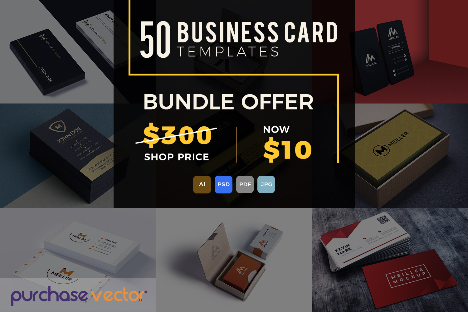 Professional Business Cards Templates example image 7