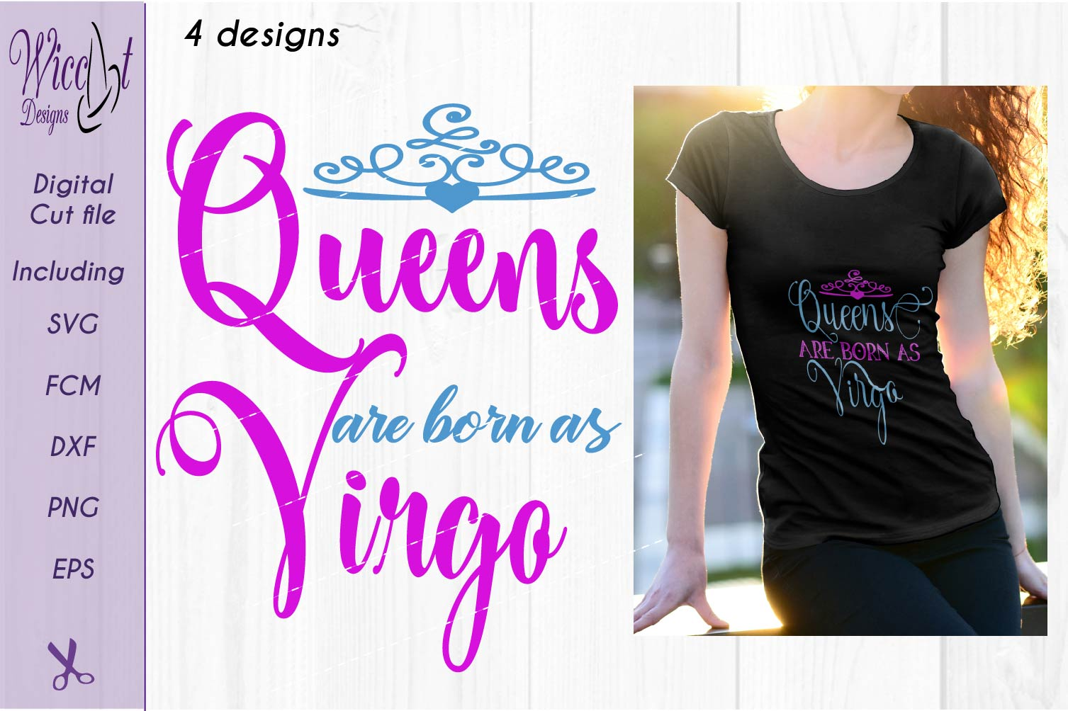 Zodiac quote svg, Queens quote svg, born as Virgo sign example image 1